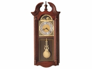 Howard Miller 620158 FENWICK Windsor Cherry Wall Clock