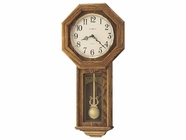 Howard Miller 620160 ANSLEY Golden Oak Wall Clock