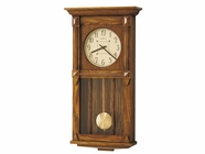 Howard Miller 620185 ASHBEE II Heritage Oak Wall Clock