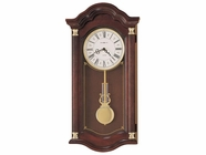 Howard Miller 620220 LAMBOURN I Windsor Cherry Wall Clock