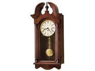 Howard Miller 620234 DAVID Windsor Cherry Wall Clock