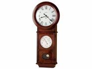 Howard Miller 620249 LAWYER II Windsor Cherry Wall Clock