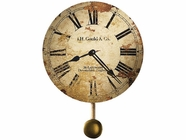 Howard Miller 620257 J H GOULD & CO. W/PEND Wall Clock