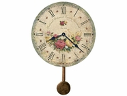 Howard Miller 620401 SAVANNAH BOTANICAL VI Wall Clock