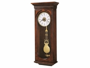 Howard Miller 620433 EARNEST Hampton Cherry Wall Clock