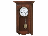 Howard Miller 620445 JENNELLE 78TH Windsor Cherry Wall Clock