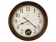 "Howard Miller 620484 AUBURN 32"" GALLERY Hampton Cherry Wall Clock"