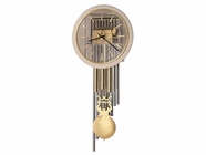 Howard Miller 622779 FOCAL POINT Polished Brass Wall Clock
