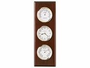Howard Miller 625249 SHORE STATION Rosewood Wall Clock