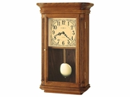 Howard Miller 625281 WESTBROOK Yorkshire Oak Wall Clock