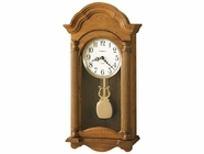 Howard Miller 625282 AMANDA Golden Oak Wall Clock