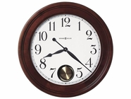 Howard Miller 625314 GRIFFITH 25 INCH Windsor Cherry Wall Clock
