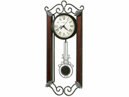 Howard Miller 625326 CARMEN WRT IRON W/PEND Wall Clock