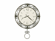 Howard Miller 625329 CAMILLA WRT IRON Wall Clock