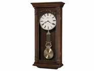 Howard Miller 625352 GREER Hampton Cherry Wall Clock