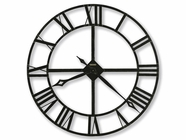 "Howard Miller 625372 LACY 32"" WROUGHT IRON Wall Clock"