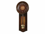 Howard Miller 625385 AVERY CHERRY WALL Rustic Cherry Wall Clock