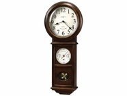 Howard Miller 625399 CROWLEY 82ND Anniversary Americana Cherry Wall Clock