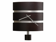 Howard Miller 625404 MORRISON WALL BLACK NK Black Coffee Wall Clock