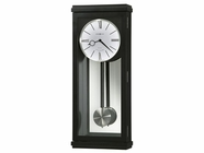 Howard Miller 625440 ALVAREZ 82ND ANNIVERSARY Black Satin Wall Clock