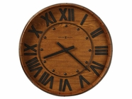 Howard Miller 625453 WINE BARREL WALL Yorkshire Oak Wall Clock