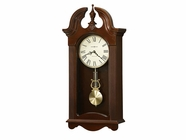 Howard Miller 625466 MALIA Cherry Bordeaux Wall Clock