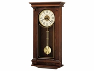 Howard Miller 625524 SINCLAIR Cherry Bordeaux Wall Clock