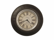 "Howard Miller 625552 ALLEN PARK 32""FAUX LEATHER G Wall Clock"