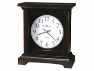Howard Miller 630246 URBAN MANTEL II Black Coffee Mantel Clock