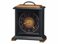 Howard Miller 630250 MORLEY 81ST ANNIVERSARY Worn Black Mantel Clock
