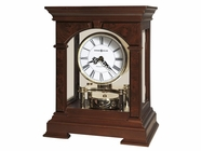 Howard Miller 635167 STATESBORO Cherry Bordeaux Mantel Clock