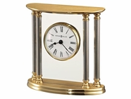 Howard Miller 645217 NEW ORLEANS Polished Brass Table Top Clock