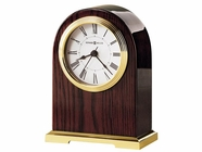 Howard Miller 645389 CARTER Polished Brass Table Top Clock
