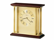 Howard Miller 645391 CARLTON Rosewood Table Top Clock