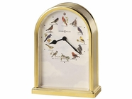 Howard Miller 645405 SONGBIRDS III Table Top Clock