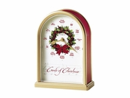 Howard Miller 645424 CAROLS OF CHRISTMAS II Table Top Clock