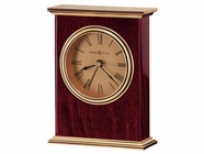 Howard Miller 645447 LAUREL Rosewood Table Top Clock