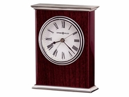Howard Miller 645481 KENTWOOD Rosewood Table Top Clock