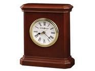 Howard Miller 645530 WINDSOR CARRIAGE Windsor Cherry Table Top Clock