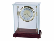 Howard Miller 645558 KENSINGTON Rosewood Table Top Clock