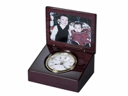 Howard Miller 645594 HAYDEN Rosewood Table Top Clock