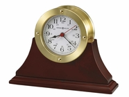 Howard Miller 645596 SOUTH PIER BRASS FIN Table Top Clock