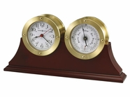 Howard Miller 645597 SOUTH HARBOR BRASS FINISH Table Top Clock