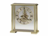 Howard Miller 645622 FAIRVIEW Polished Brass Table Top Clock