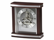 Howard Miller 645673 TEMPLETON Rosewood Table Top Clock