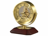 Howard Miller 645674 SOLOMAN SKELETON MVMT CLOCK Table Top Clock