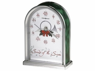Howard Miller 645687 SOUNDS OF SEASON XMAS CLOCK Table Top Clock