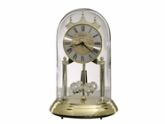 Howard Miller 645690 CHRISTINA Polished Brass Table Top Clock