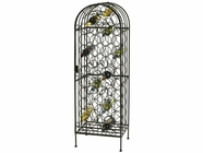 "Howard Miller 655146 WINE ARBOR 54"" H WRT IRON"