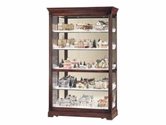 Howard Miller 680235 TOWNSEND Windsor Cherry Collectors Cabinet-Floor